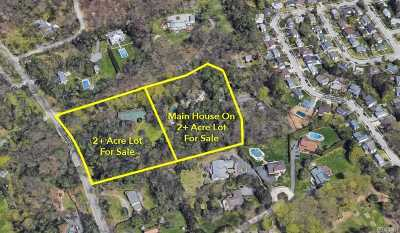 Oyster Bay Residential Lots & Land For Sale: 417 A Mill River Rd