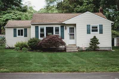 Middle Island Single Family Home For Sale: 4 White Oak St