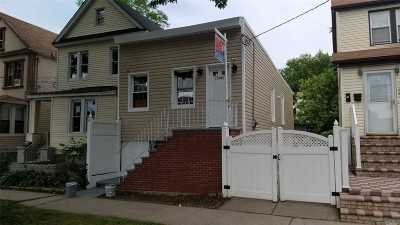 Jamaica Single Family Home For Sale: 110-41 156th St