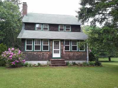 Hampton Bays Single Family Home For Sale: 92 Ponquogue Ave