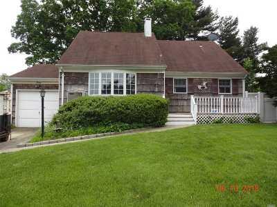Centereach Single Family Home For Sale: 20 Saxon Rd