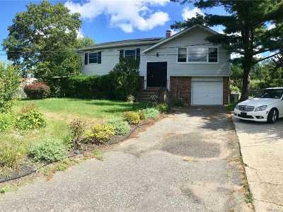 Coram Single Family Home For Sale: 215 Mount Sinai Cora Rd