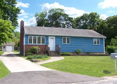 Hauppauge NY Single Family Home For Sale: $379,000