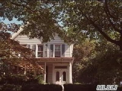 Nassau County Rental For Rent: 54 Dosoris Ln