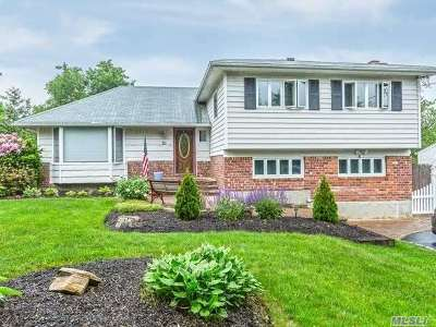 Smithtown Single Family Home For Sale: 53 Cornell Dr