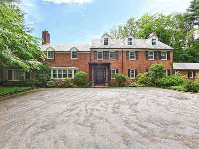 Oyster Bay Single Family Home For Sale: 417 Mill River Rd