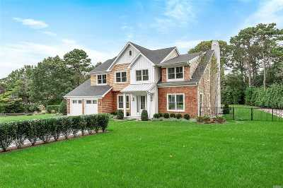Southampton NY Single Family Home For Sale: $2,195,000