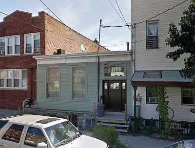 Long Island City Single Family Home For Sale: 50-05 38th St