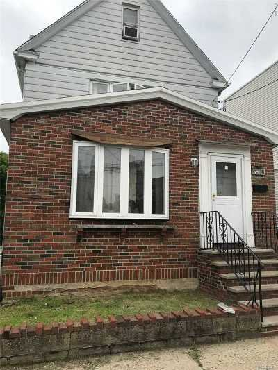 Ozone Park Single Family Home For Sale: 95-18 103 St