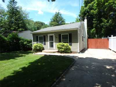 Selden Single Family Home For Sale: 55 Inwood Ave