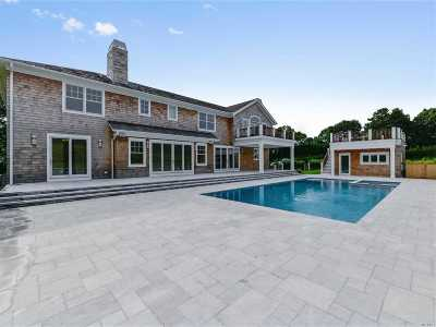 Southampton NY Single Family Home For Sale: $3,650,000