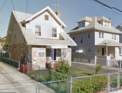 Jamaica Multi Family Home For Sale: 90-21 197th St