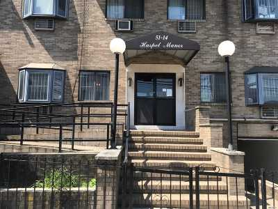 Elmhurst Condo/Townhouse For Sale: 51-14 Haspel St #1 A