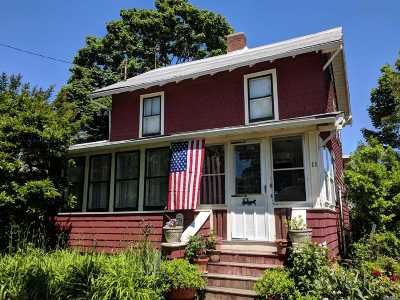 Sayville Single Family Home For Sale: 11 Terry St