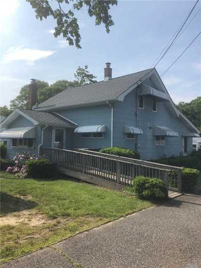 Patchogue Single Family Home For Sale: 65 Shaber Rd