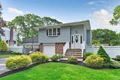 Ronkonkoma Single Family Home For Sale: 382 Wildwood Rd