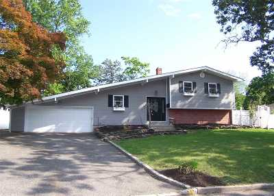 Centereach Single Family Home For Sale: 140 Hawkins Rd