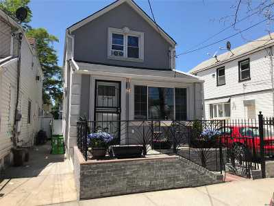 Ozone Park Single Family Home For Sale: 107-44 90th St