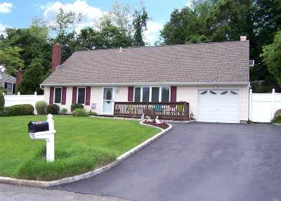 Farmingville Single Family Home For Sale: 103 Rosemont Ave