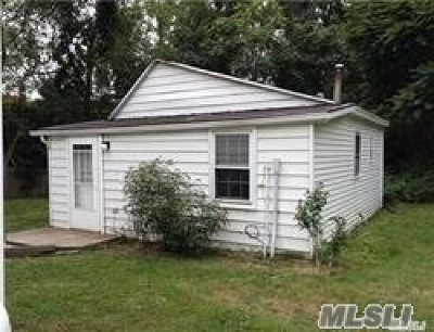 Suffolk County Rental For Rent: 174 Mills Pond Rd