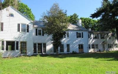 Old Westbury Single Family Home For Sale: 327 Jericho Tpke