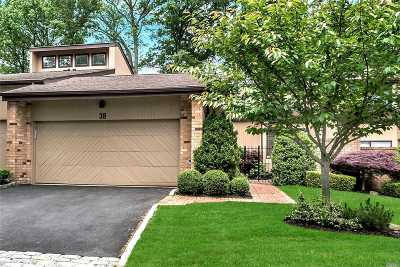 Roslyn Condo/Townhouse For Sale: 38 Woodland Dr