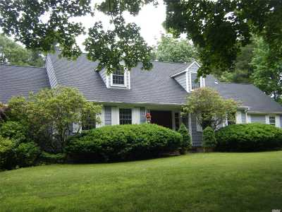 Baiting Hollow Single Family Home For Sale: 1 Baiting Hollow Ln