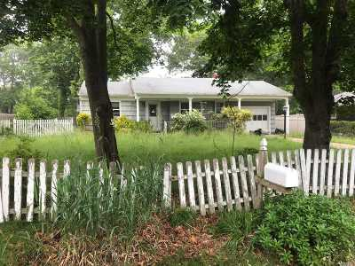 Hampton Bays Single Family Home For Sale: 33 Staller Blvd
