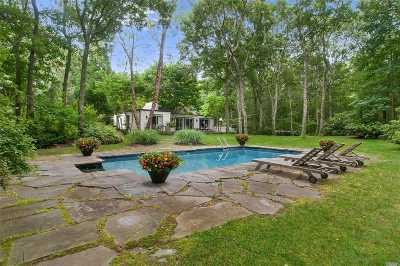 Southampton Single Family Home For Sale: 143 Sandy Hollow Rd