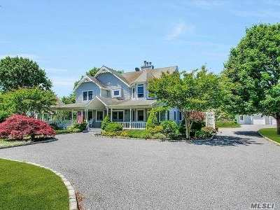 Cutchogue Single Family Home For Sale: 300 Private Rd