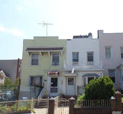 Brooklyn NY Single Family Home For Sale: $599,900