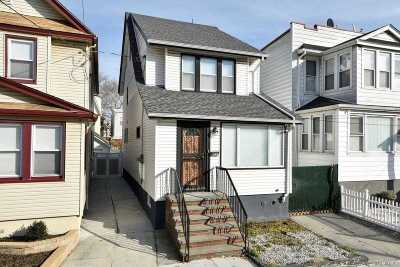 Kew Gardens Single Family Home For Sale: 84-41 123 St