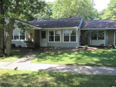 Ridge Condo/Townhouse For Sale: 481 Fairway Ct #B