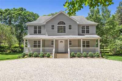 Hampton Bays Single Family Home For Sale: 35 Peconic Rd