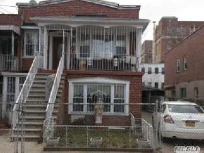 Brooklyn Multi Family Home For Sale: 486 Montauk Ave