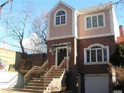 Flushing Single Family Home For Sale: 68-03 141st St