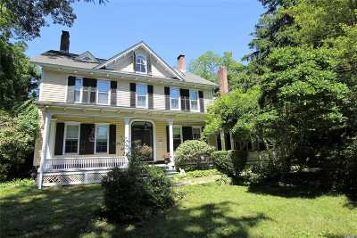 Stony Brook Single Family Home For Sale: 47 Main St