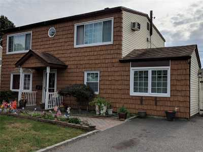 Levittown Single Family Home For Sale: 288 Orchid Rd