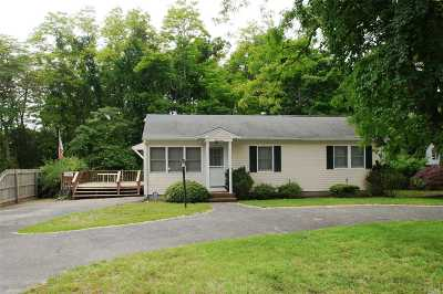 Hampton Bays Single Family Home For Sale: 17 Wakeman Rd