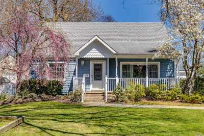 Lindenhurst Single Family Home For Sale: 131 Heathcote Rd