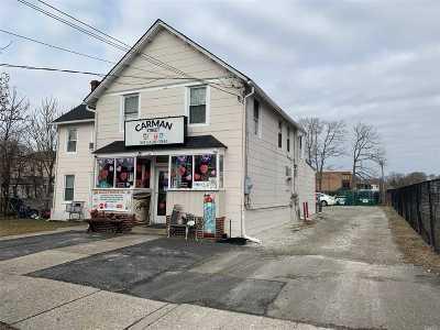 Patchogue Commercial For Sale: 15 Carman St