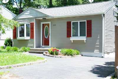 Ronkonkoma Single Family Home For Sale: 223 N 4th St
