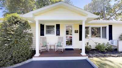 Center Moriches Single Family Home For Sale: 12 Oleander Ln