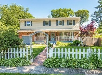 Hauppauge Single Family Home For Sale: 3 Hampton St
