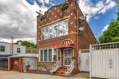 Ozone Park Multi Family Home For Sale: 103-11 90th St