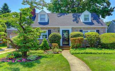 Rockville Centre Single Family Home For Sale: 32 Intervale St
