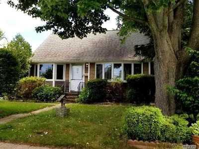 Hicksville Single Family Home For Sale: 3 Washington Ave