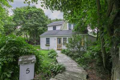 Sayville Single Family Home For Sale: 5 Oak St