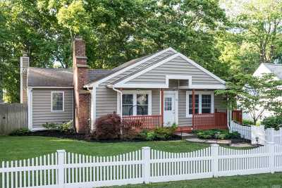 Ronkonkoma Single Family Home For Sale: 55 Champlin St
