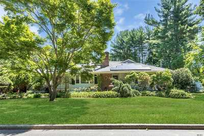 Smithtown Single Family Home For Sale: 37 Mount Pleasant Rd